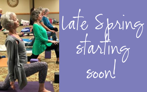 Late Spring Session starting soon!