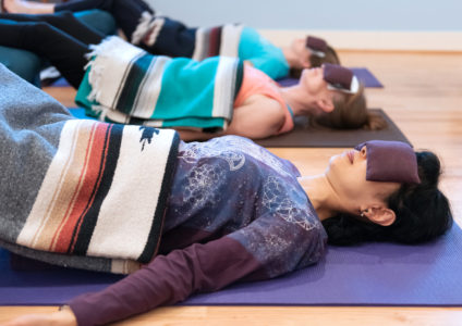 Managing Stress, Relaxation Pose