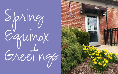 Spring Equinox Greetings